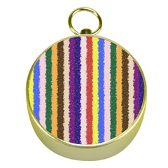 Vivid Colors Curly Stripes - 1 Gold Compass
