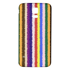 Vivid Colors Curly Stripes   1 Samsung Galaxy S5 Back Case (white)