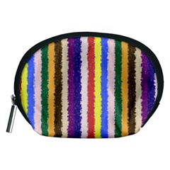 Vivid Colors Curly Stripes - 1 Accessory Pouch (Medium)