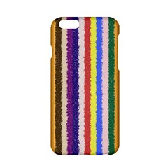 Vivid Colors Curly Stripes   1 Apple Iphone 6 Hardshell Case