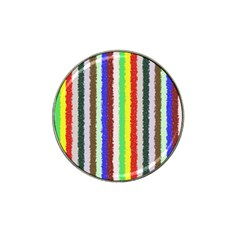Vivid Colors Curly Stripes   2 Golf Ball Marker (for Hat Clip)