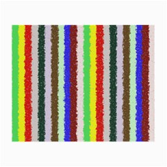 Vivid Colors Curly Stripes   2 Glasses Cloth (small)