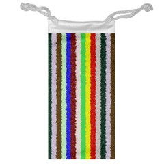 Vivid Colors Curly Stripes - 2 Jewelry Bag