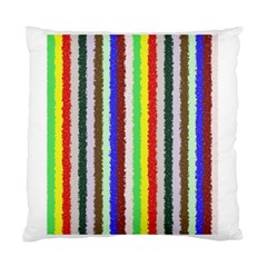 Vivid Colors Curly Stripes   2 Cushion Case (two Sided)