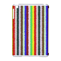 Vivid Colors Curly Stripes   2 Apple Ipad Mini Hardshell Case (compatible With Smart Cover)
