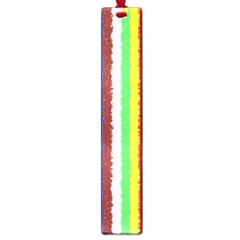 Vivid Colors Curly Stripes   2 Large Bookmark