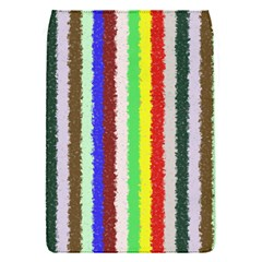 Vivid Colors Curly Stripes - 2 Removable Flap Cover (Small)