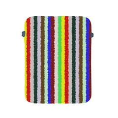 Vivid Colors Curly Stripes   2 Apple Ipad Protective Sleeve