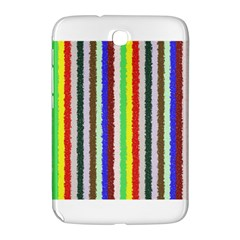 Vivid Colors Curly Stripes   2 Samsung Galaxy Note 8 0 N5100 Hardshell Case