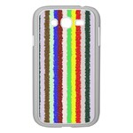 Vivid Colors Curly Stripes - 2 Samsung Galaxy Grand DUOS I9082 Case (White) Front