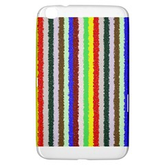 Vivid Colors Curly Stripes - 2 Samsung Galaxy Tab 3 (8 ) T3100 Hardshell Case