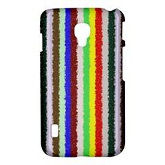 Vivid Colors Curly Stripes - 2 LG Optimus L7 II P715 Hardshell Case