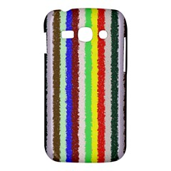 Vivid Colors Curly Stripes - 2 Samsung Galaxy Ace 3 S7272 Hardshell Case