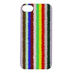 Vivid Colors Curly Stripes - 2 Apple iPhone 5S Hardshell Case
