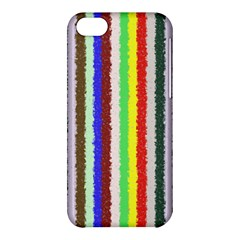 Vivid Colors Curly Stripes - 2 Apple iPhone 5C Hardshell Case