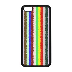 Vivid Colors Curly Stripes - 2 Apple iPhone 5C Seamless Case (Black)