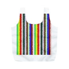 Vivid Colors Curly Stripes - 2 Reusable Bag (M)