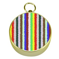 Vivid Colors Curly Stripes - 2 Gold Compass