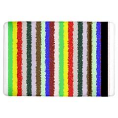 Vivid Colors Curly Stripes - 2 Apple iPad Air Flip Case