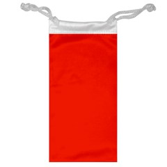 Bright Red Jewelry Bag