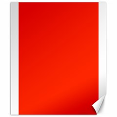Bright Red Canvas 20  X 24  (unframed)