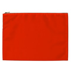 Bright Red Cosmetic Bag (xxl)
