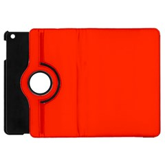 Bright Red Apple Ipad Mini Flip 360 Case