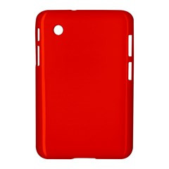 Bright Red Samsung Galaxy Tab 2 (7 ) P3100 Hardshell Case