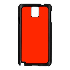 Bright Red Samsung Galaxy Note 3 N9005 Case (black)
