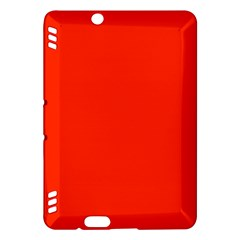 Bright Red Kindle Fire Hdx Hardshell Case