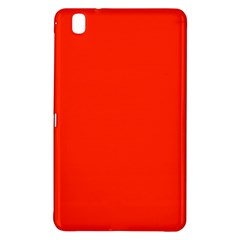 Bright Red Samsung Galaxy Tab Pro 8.4 Hardshell Case