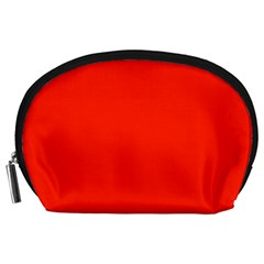 Bright Red Accessory Pouch (Large)