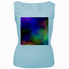 Plasma 3 Women s Tank Top (baby Blue)