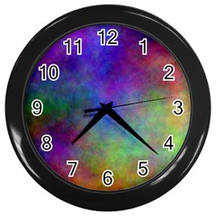 Plasma 3 Wall Clock (black)