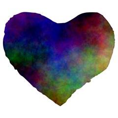Plasma 3 19  Premium Heart Shape Cushion