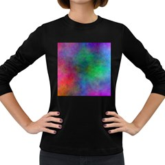 Plasma 1 Women s Long Sleeve T Shirt (dark Colored)
