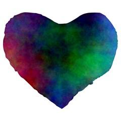 Plasma 1 19  Premium Heart Shape Cushion