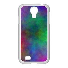 Plasma 1 Samsung GALAXY S4 I9500/ I9505 Case (White)