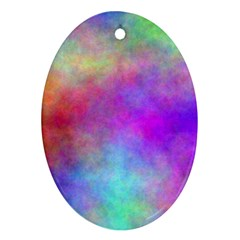 Plasma 2 Oval Ornament