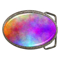 Plasma 2 Belt Buckle (oval)