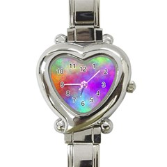 Plasma 2 Heart Italian Charm Watch