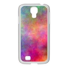 Plasma 4 Samsung GALAXY S4 I9500/ I9505 Case (White)