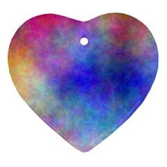 Plasma 5 Heart Ornament (Two Sides)