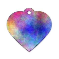 Plasma 5 Dog Tag Heart (one Sided)