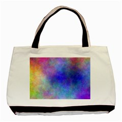 Plasma 5 Twin-sided Black Tote Bag