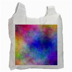 Plasma 5 White Reusable Bag (two Sides)