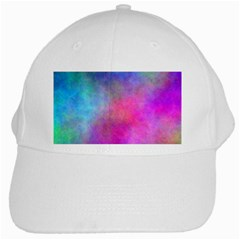 Plasma 6 White Baseball Cap