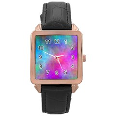 Plasma 6 Rose Gold Leather Watch
