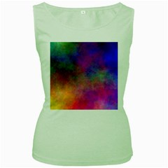 Plasma 7 Women s Tank Top (green)