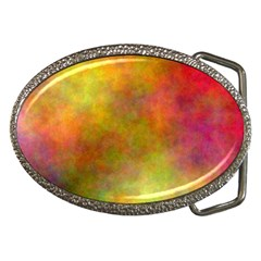 Plasma 8 Belt Buckle (Oval)